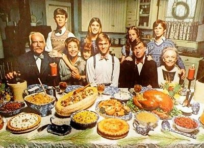 The Waltons, first broadcast September 1972
