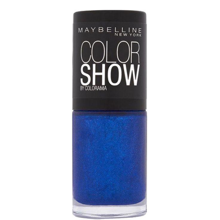 Vernis à ongles - Color show - 661 Ocean blue - 7 ml - Gemey Maybelline | beauteprivee.fr