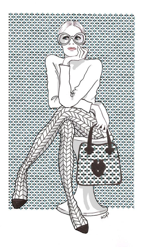 Le charme fou de l'excentricité britannique Illustration Isabelle Oziol de Pignol