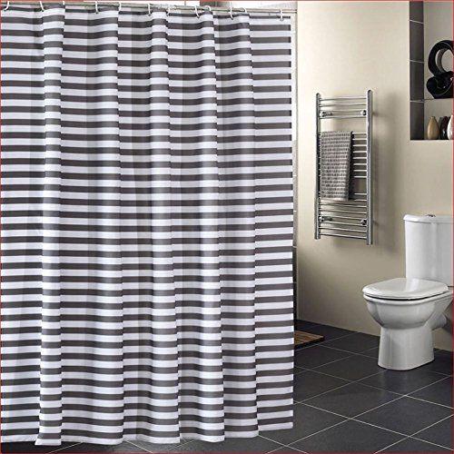 Shower Curtain Bathroom Decoration Design Decor Mildew Resistant Repellent Water Fabric Art