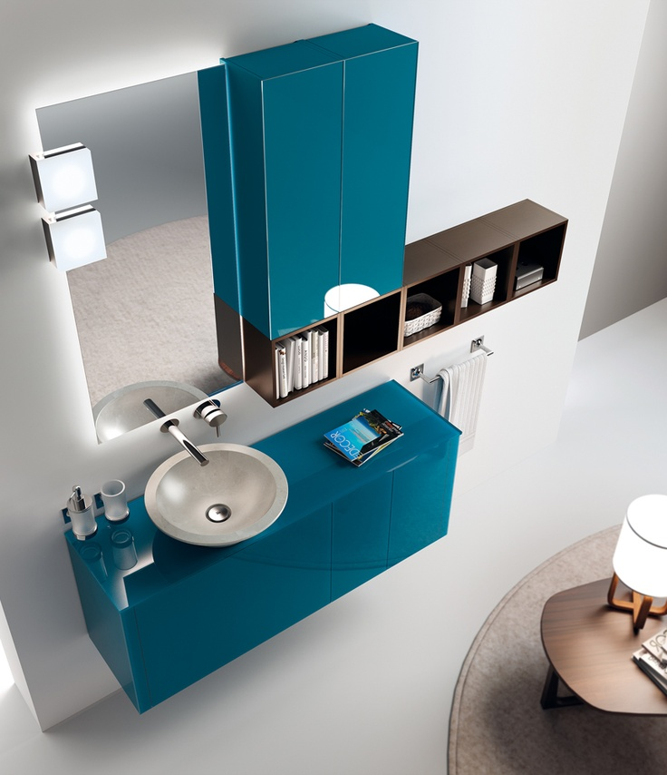 Font Collection. The #bathroom according to Scavolini. #ScavoliniBathroom