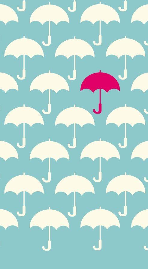 umbrella iPhone wallpaper