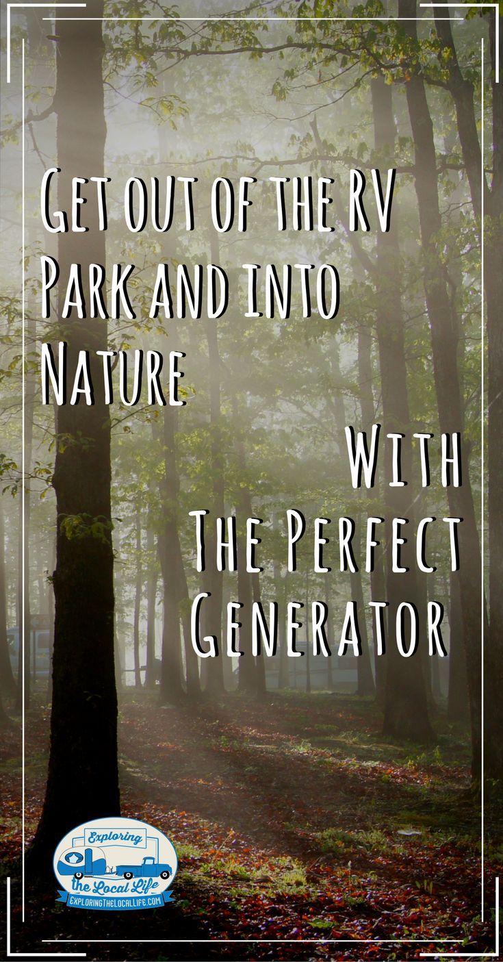 If you're going to live the RV lifestyle and want the option to go off grid, you want to own an RV Ready inverter generator. This post is about why we've chosen – the powerful Champion 3500/3200 Watt Dual Fuel Inverter Generator with electric start. #quiet #portable #rvliving #camping #tips