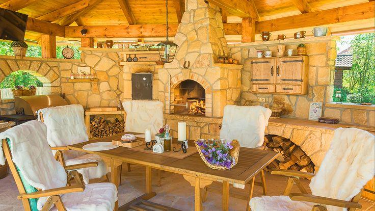 Kamenná kuchyně La Provence pohled 9