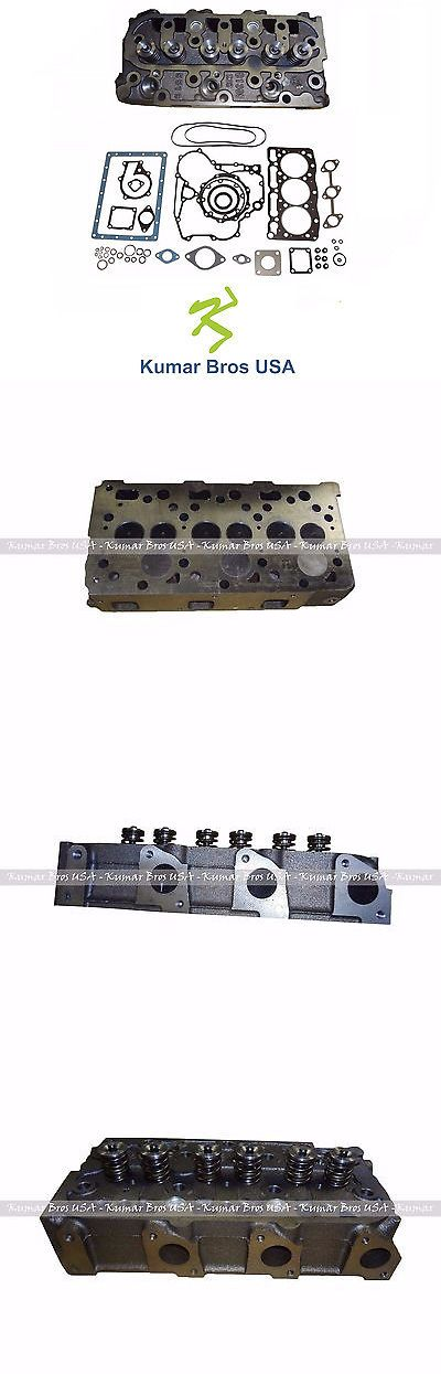 heavy equipment: New Kubota D1105 Complete Cylinder Head And Full Gasket Kit -> BUY IT NOW ONLY: $799 on eBay!