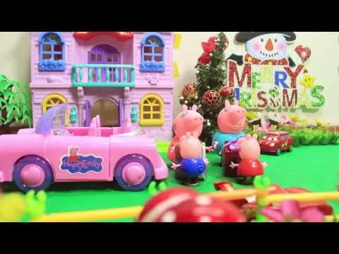 Toy City Peppa Pig Toys House Playset for Kids Pepa toys story Episodes ...