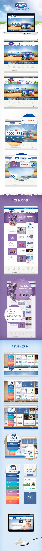 Danone Portuguese Website / Hugo Miguel Sousa #webdesign #ui #design #user #iterface #web