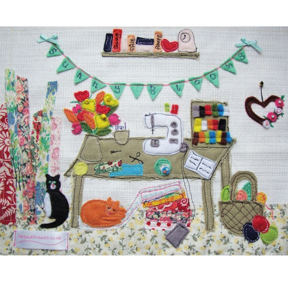 Sunny Blooms Crafty Workspace | Products | Thread Friends