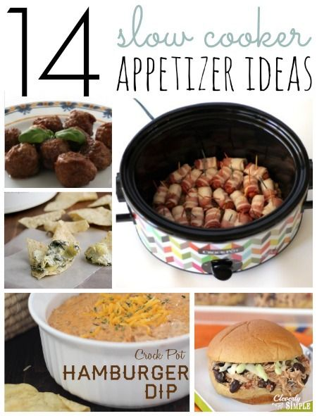Check out these Crockpot Appetizer Recipes!