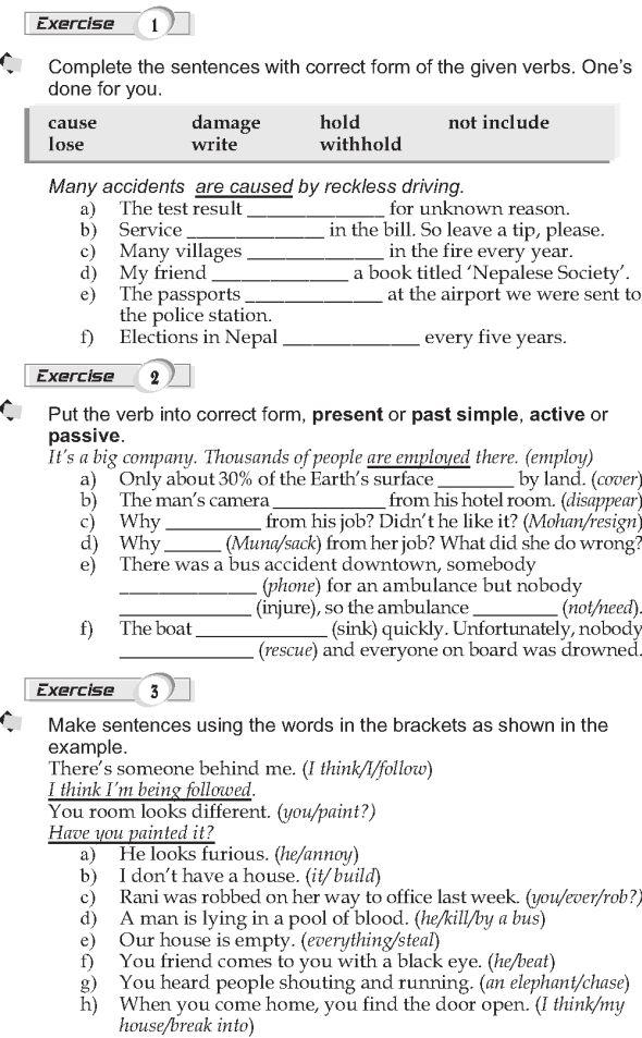 Grade 9 Grammar Lesson 32 The Passive 2 Grammar Lessons English Grammar Worksheets English Grammar