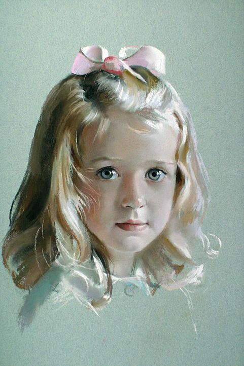 Pastel Drawing by Rob Beckett