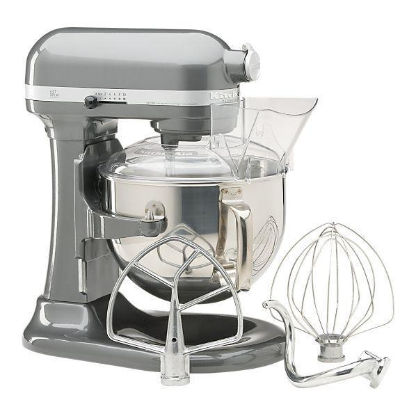 New KitchenAid 600 Super Large Capacity 6 Quart Pro Stand Mixer KP26M1PSL Silver | eBay
