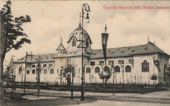 Bucuresti - Romania,Expozitia Nationala 1906,Palatul Industriei