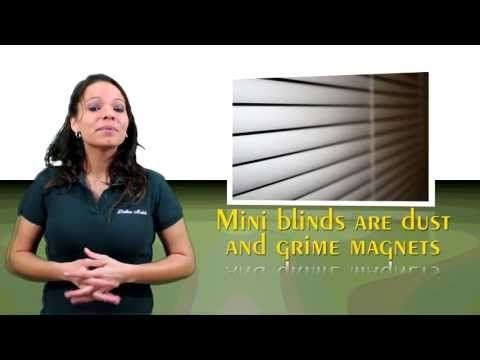 Cleaning Mini Blinds - YouTube