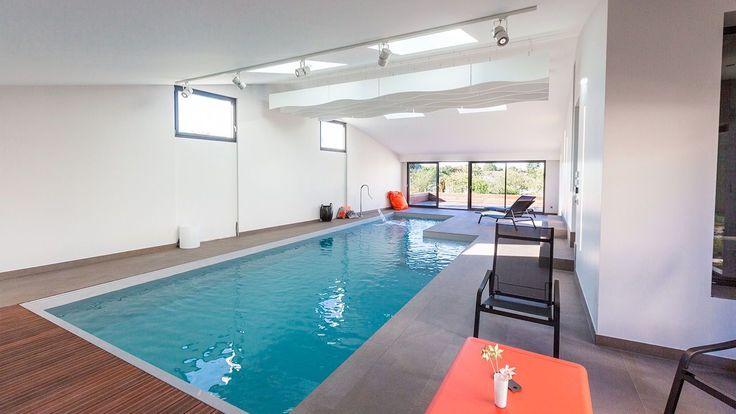 Les 49 meilleures images du tableau piscines design sur for Construction piscine 58