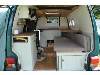 VW T4 Campervan with wood burning stove for sale N70el Picture 4