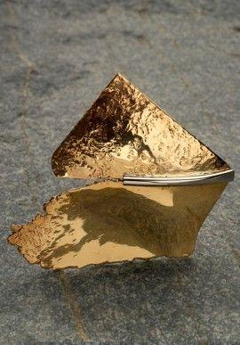 """Bronze brooch - """"2000"""" by Roberto Lanaro BUY IT NOW ON www.dezzy.it!"""