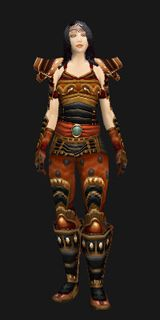 Warmonger's Mail - Transmog Set - World of Warcraft