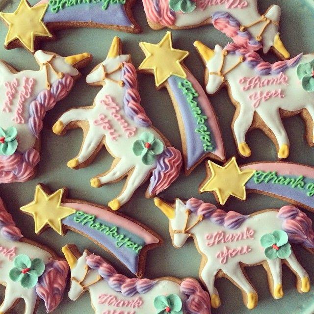 ♥Unicorn cookie magic!
