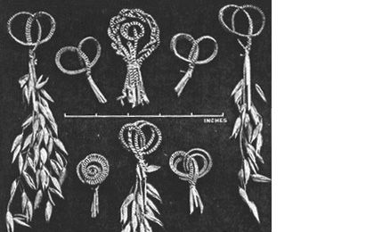 #Harvest knots# . Selection of different designs