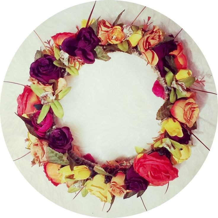 Image of ..I LOVE.. READY TO WEAR AUTUMN FLOWER CROWN
