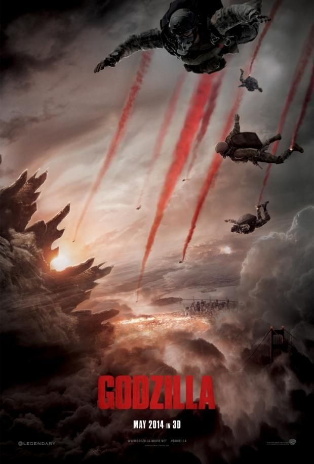 First trailer and poster for Godzilla finally released | Den of Geek