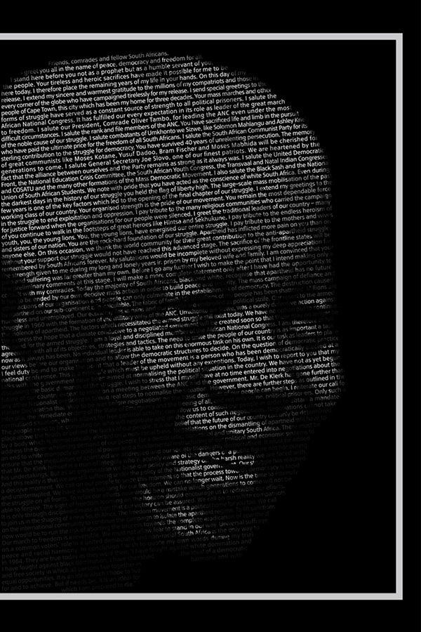 Madiba Tribute Illustration on Behance