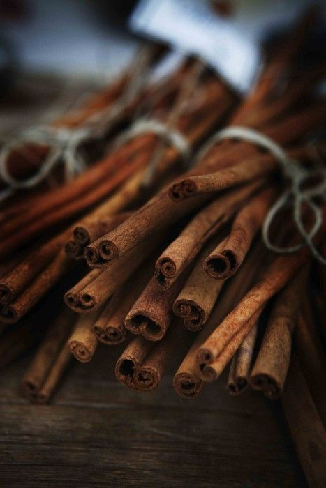 Cinnamon for some hot cider by the fire...