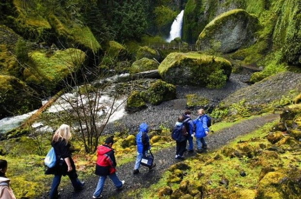 Hiking in the rain is a rite of passage for Oregonians. Here are ten places to get outside in this grey, rainy winter.