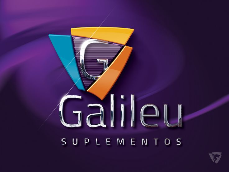 Logotipo criado pela Ópera para a Loja de Suplementos Galileu de São Paulo | SP.