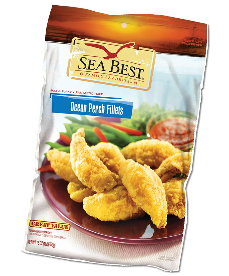 Sea Best® packaged fish are fresh-frozen, easy to prepare and healthy. Available in your grocer's freezer or ask the manager.