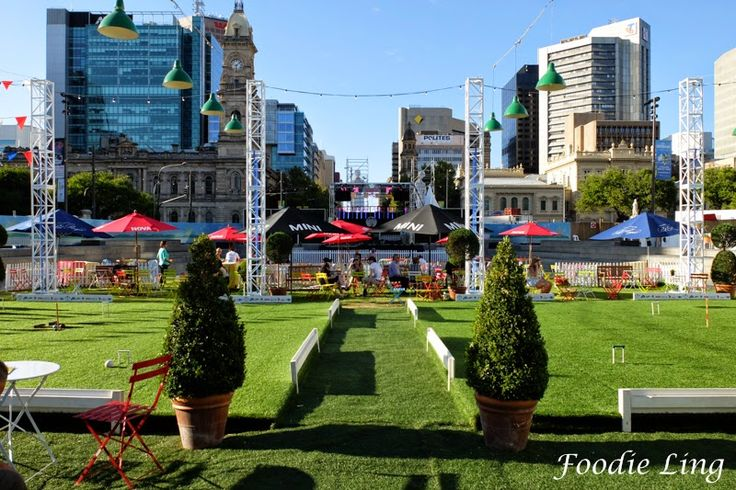 Foodie Ling - An Adelaide Food Blog: Adelaide Fringe 2015 - The Royal Croquet Club