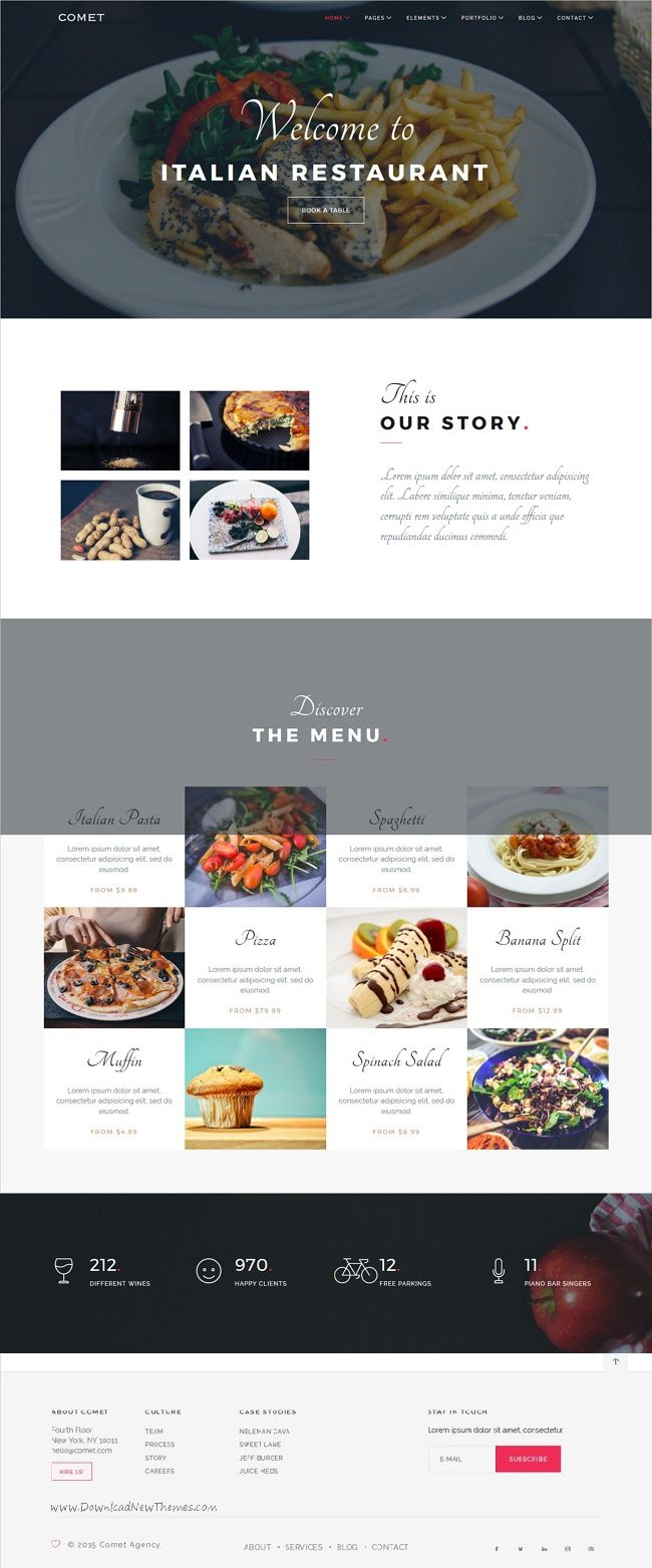 Comet is a perfect multipurpose responsive #Joomla #template for Agency, #Restaurant, Architecture, Resume, Landing Page, Photography, Fitness, Model Agency websites with 8 different niche homepage layouts download now➩ https://themeforest.net/item/comet-creative-multipurpose-joomla-template/19302070?ref=Datasata