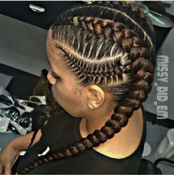 16 + SIDE CORNROW HAIRSTYLES FOR SPECIAL LOOK