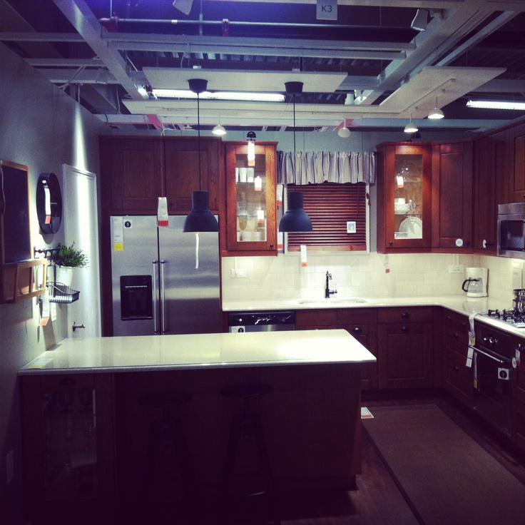 Flächenvorhang Raumteiler Ikea ~   about new kitchen on Pinterest  Cabinets, Islands and Walnut cabinets