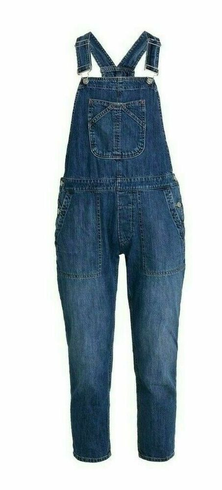 cca21055123 Womens New GAP Dungaree UK Size 16-18 (L) Denim Overall  fashion ...