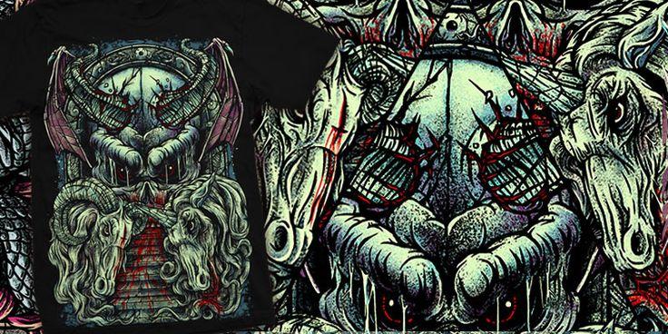 """""""Beast Empire"""" t-shirt design by burntilldead"""