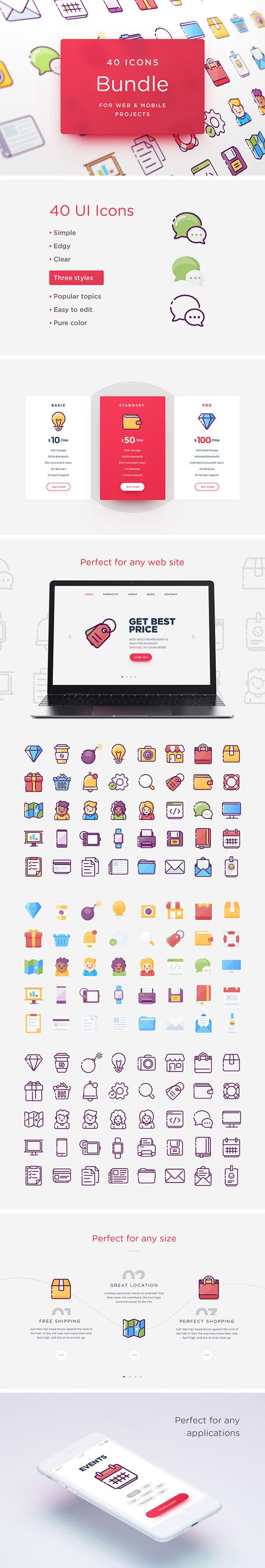 Web & Mobile Icons Bundle [AI/EPS/SVG/PSD/PNG] Free Download http://ift.tt/2FePWfH