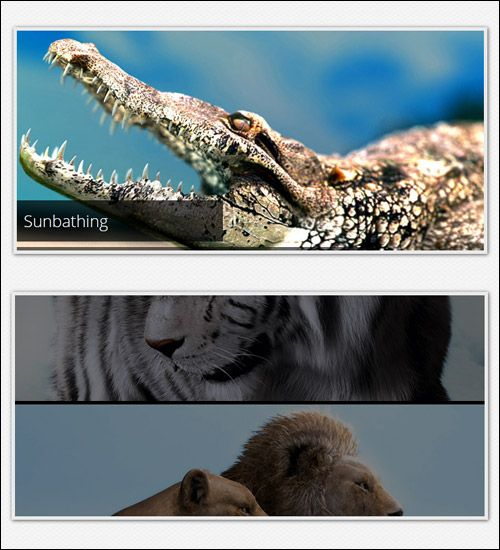 My last experiment a Pure CSS3 Slideshow