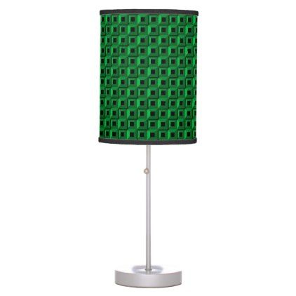 Barnacles in Teal Table Lamp  $50.20  by brucestradling  - cyo customize personalize unique diy idea