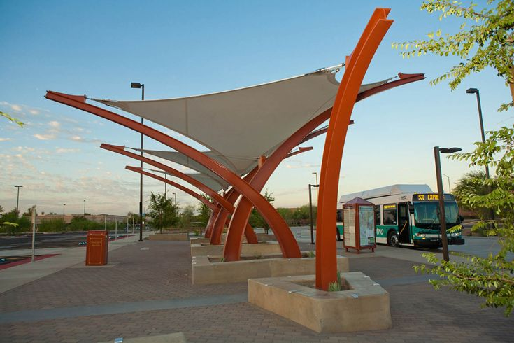 Award of excellence shade structures: West Mesa Park and Ride
