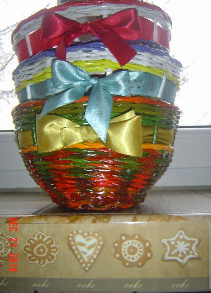 Radosny zakątek: W co zapakować prezenty? Papierowe cuda wianki.
