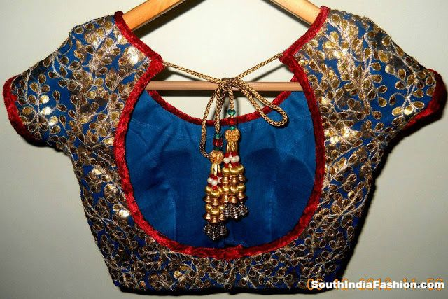 beautiful blouse/choli works with any saree