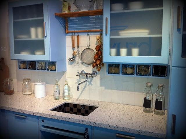 De Bruynzeel Piet zwart keuken | 3d ontwerp | monique van waes mozaiek.com