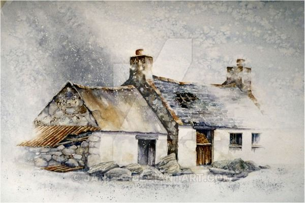 286 Best Images About Watercolour Houses Barns On