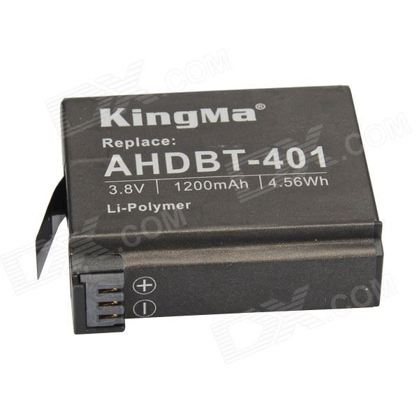 #GoPro #4 # #Black #Kingma #AHDBT401 #38V #1200MAh #LiPolymer #Battery #For #GoPro #Hero #4 #Batteries # #Chargers #Cameras # #Photo # #Video #Consumer #Electronics #Home #Replacement #Batteries Available on Store USA EUROPE AUSTRALIA http://ift.tt/2iQXeim