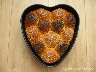 Xandra bakt brood
