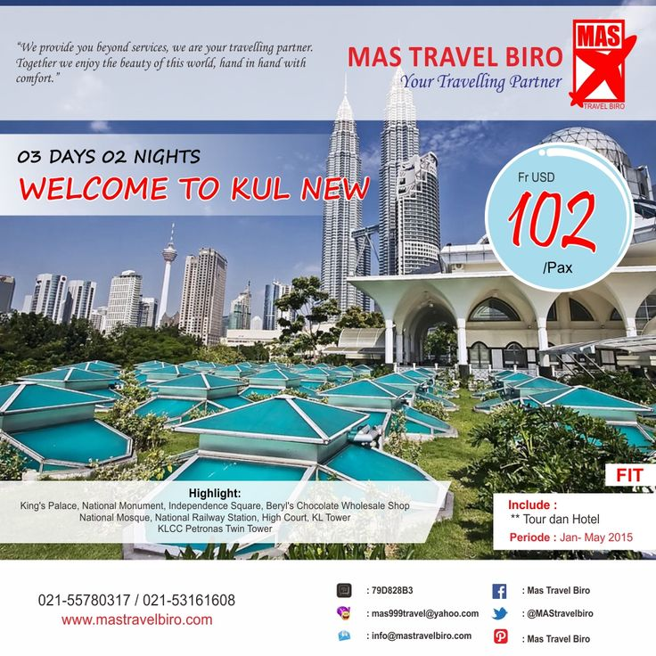 Mau liburan ke malaysia? wajib datang ke tempat wisata Menara Petronas di kawasan modern KLCC loh travelers karena berfoto dan bersantai di kawasan wisata tersebut akan sangat menyenangkan.