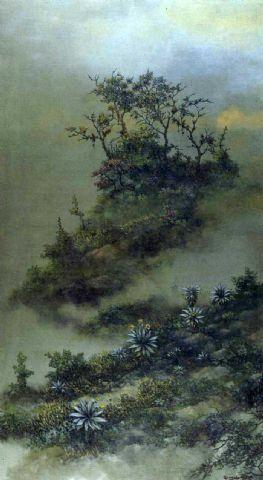 Gonzalo Ariza - Mist in the afternoon - Arte Colombia - Informacion de la Obra
