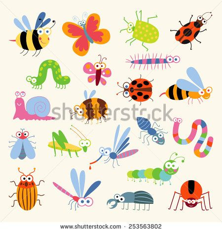 41 Best Cartoon Insects To Draw Images On Pinterest